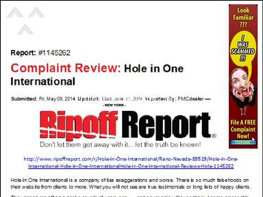 Hole In One International Insurance review 287354