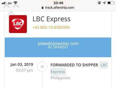 LBC Express Express Delivery Service review 363976