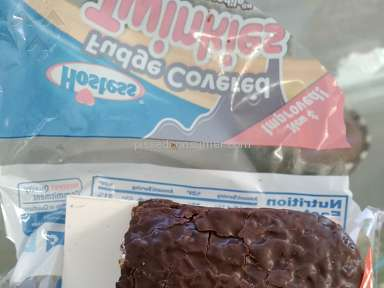 Hostess Brands - I bought 2 pks ok fudge covered Twinkies.One was the normal size and one was short with a *** taken out of it!!!!!!