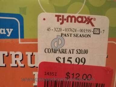 Tj Maxx Customer Care review 349104