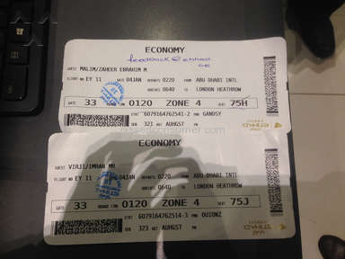 Etihad Airways the worst experience ever, obnoxious attitude and behaviour!!