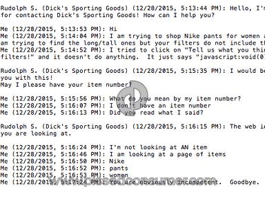 Dicks Sporting Goods Sport review 105681