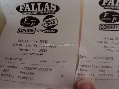 Fallas Stores Supermarkets and Malls review 77273