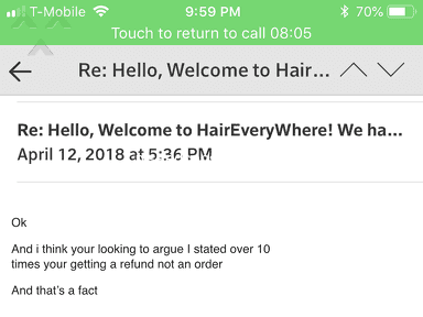 Hair Everywhere - THEY ARE SCAM ARTIST