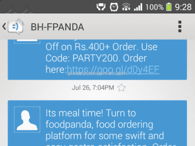 Foodpanda Delivery Service review 99049