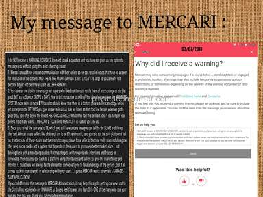 Mercari - IF YOUR BLOCKED/FROZEN USE BACK DOOR IN APP! READ!