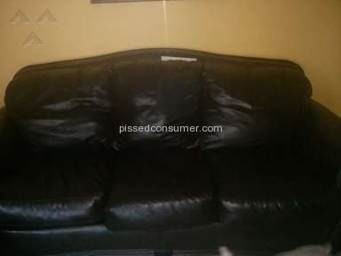 Ashley Furniture - Leather Sofa Peeling