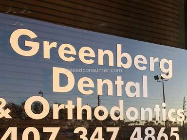 Greenberg Dental And Orthodontics Customer Care review 253616