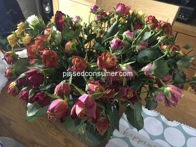 Prestige Flowers - Don't bother, they only put high rating on their site!
