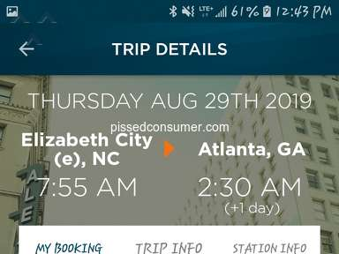 Greyhound Bus Service review 425930