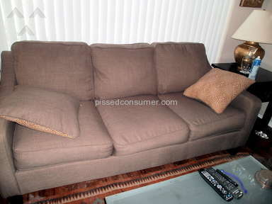 Living Spaces Sofa review 49643