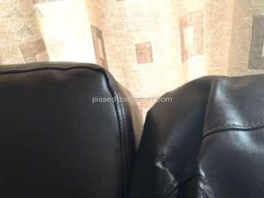 Lazboy Reese Leather Sofa review 275920