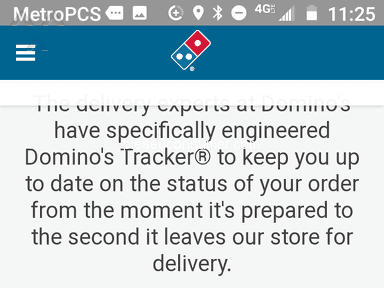 Dominos Pizza - Never Got my Pizza