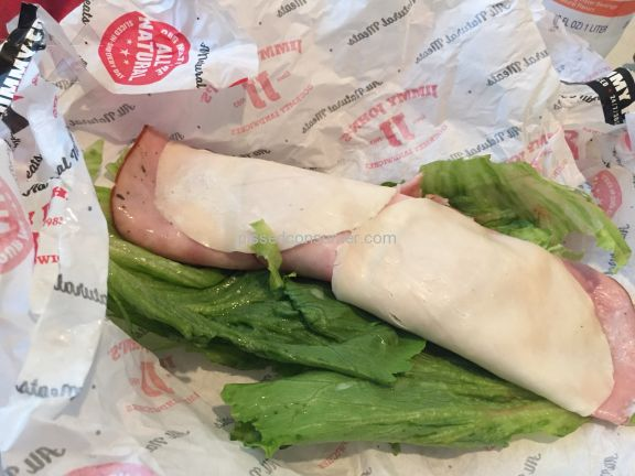 Jimmy Johns Italian Night Club Sandwich