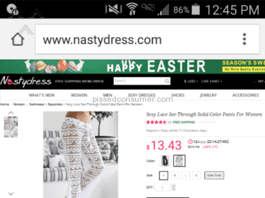 Nastydress - Pants Review from Hayden, Idaho