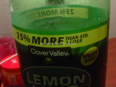 Clover Valley - STD on the soda label