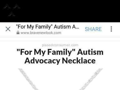 Brave New Look - Autism Necklaces Two 16 Inch Sterling Silver For My Daughter Review