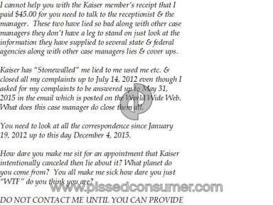 Kaiser Permanente Hospitals, Clinics and Medical Centers review 102535