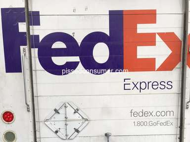 Fedex - Rude and discourteous driver.