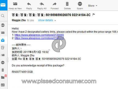 Aliexpress Electronics Claim review 214486