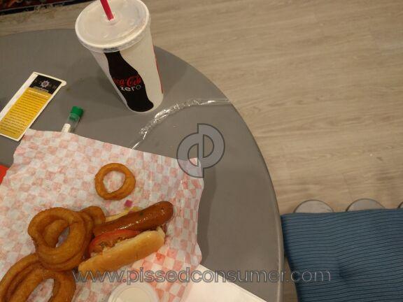 Falafels Drive In Hot Dog