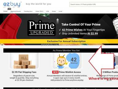 Ezbuy try to push blame to user (Prime Annual)