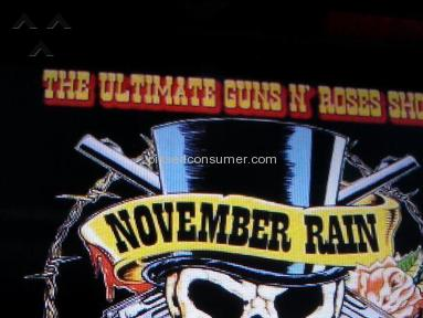 November Rain Tribute Band Entertainment review 8323