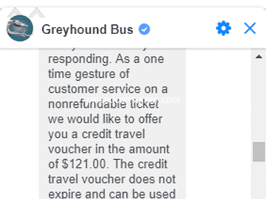 Greyhound Bus Service review 406880