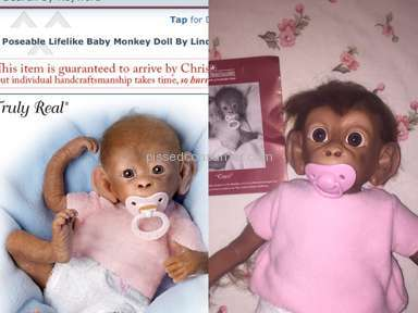 The Ashton Drake Galleries - Monkey Coco Doll Review
