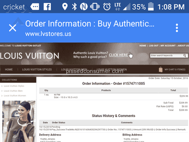 Louis Vuitton Outlet - Hand Bags Wpm Review from Meridian Station, Mississippi