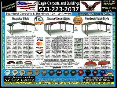 Eagle Carports - Angry at Eagle carport!!!!