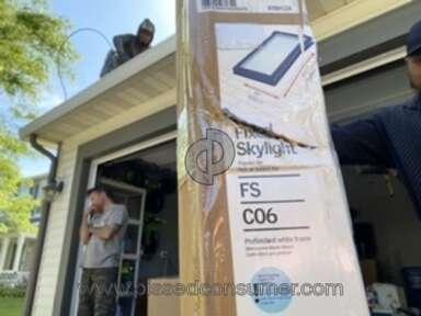 Menards Velux Fixed Skylight Window review 640473