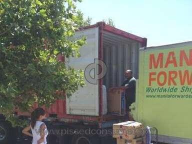 Manila Forwarder Shipping review 70343