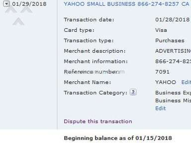 Rivals - Still Being Charged for Yahoo Small Business