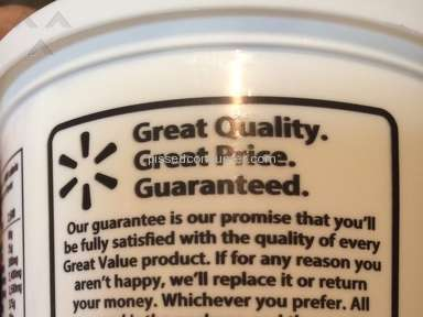 Great Value - Sour Cream Review from Carson City, Nevada