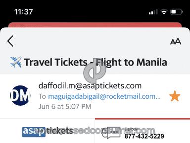 Asap Tickets Flight Booking review 814474