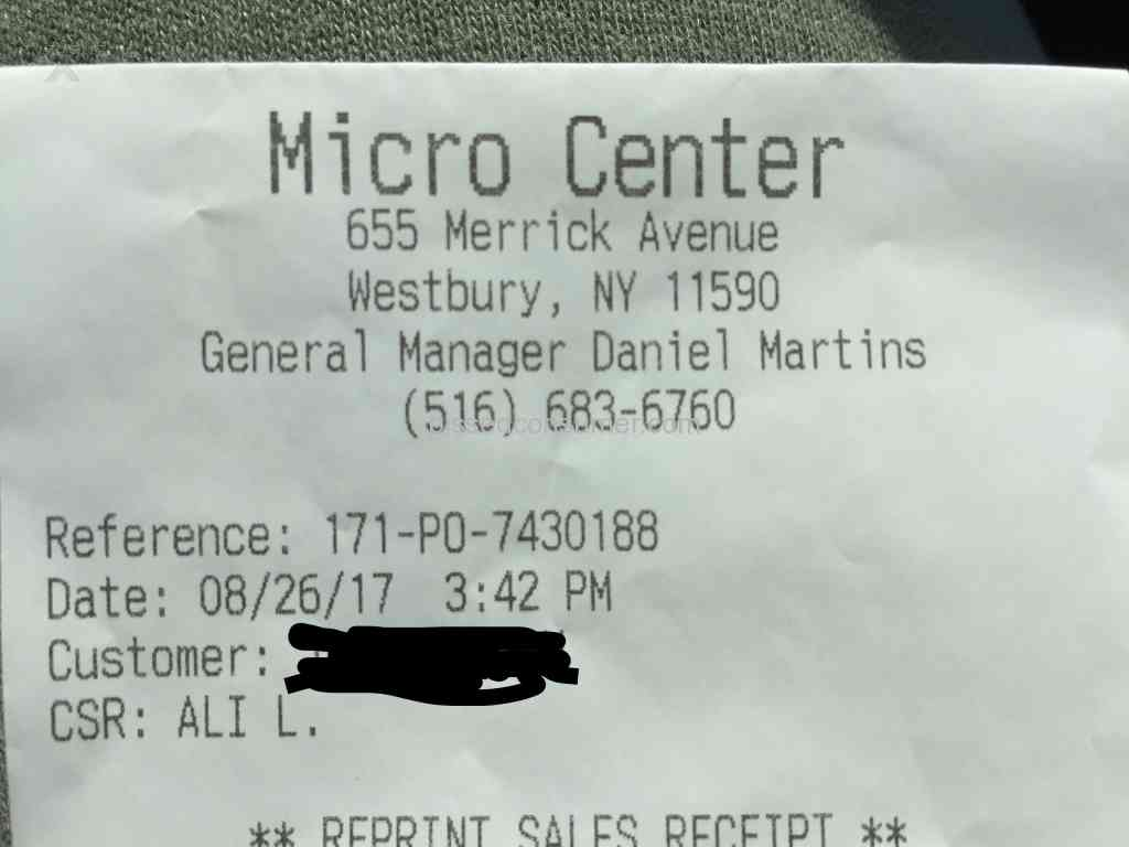 micro center worst customer service at westbury ny csr ali l