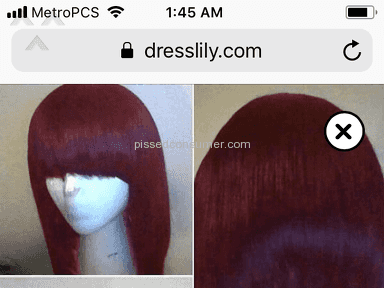 Dresslily Synthetic Wig review 265935