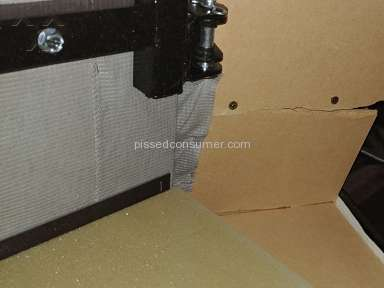 Mattress Firm - Broken bed platform 7 gouged marks in my new floor