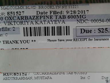 Blink Health Oxcarbazepine Pills review 233682