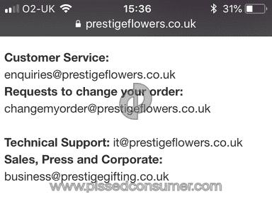 Prestige Flowers Double Flowering Roselily Bouquet review 282764