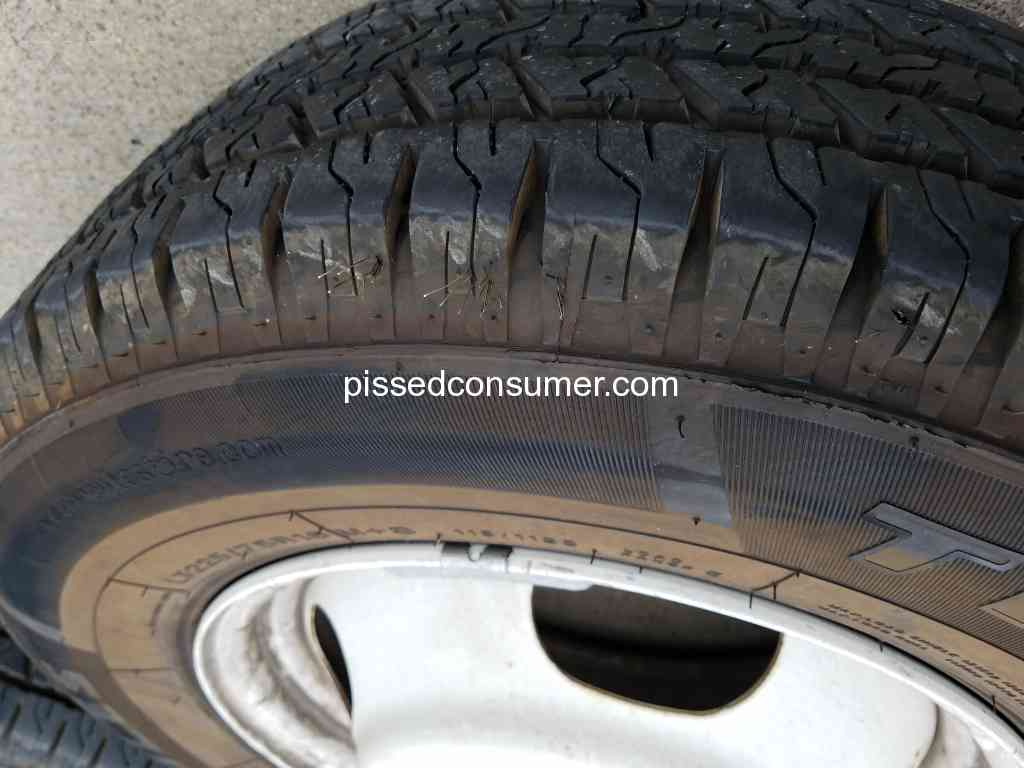 86 Hercules Tires Reviews And Complaints Pissed Consumer
