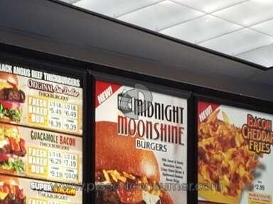 Carls Jr Restaurant The Midnight Moonshine Burger review 128829