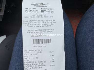 Menards Supermarkets and Malls review 585701