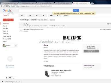 Hot Topic - Website is a Joke!