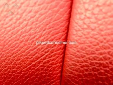 Bmw of North America - Driver side defective leather seat (Red interior)