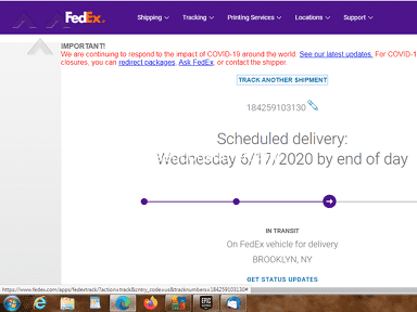 FedEx Delivery Service review 644039
