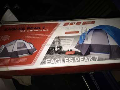 Dicks Sporting Goods - Eagles Peak 7 Tent Review from Southampton Township, New Jersey