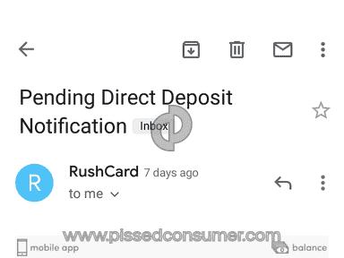 RushCard - Rush card full of ***