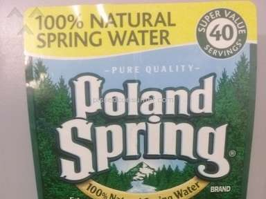 Poland Spring Water Review from New York, New York